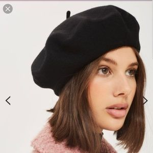 Kangol Wool Beret Deep Navy almost black